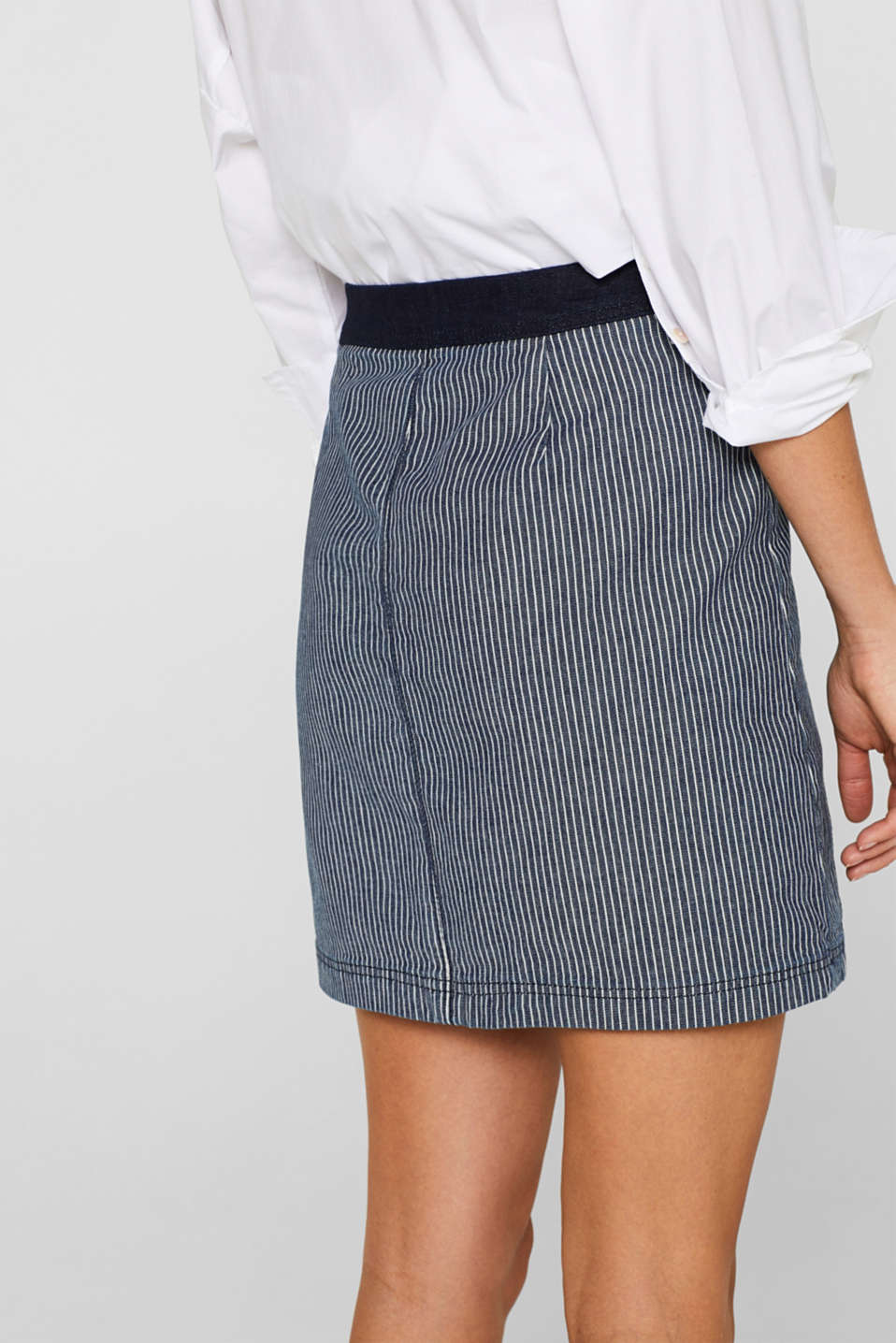 Skirts denim, BLUE MEDIUM WASH, detail image number 4