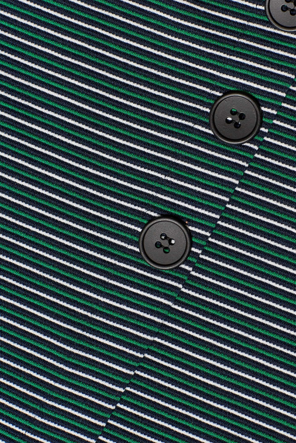 Stretch jersey skirt with a button placket, NAVY, detail image number 4