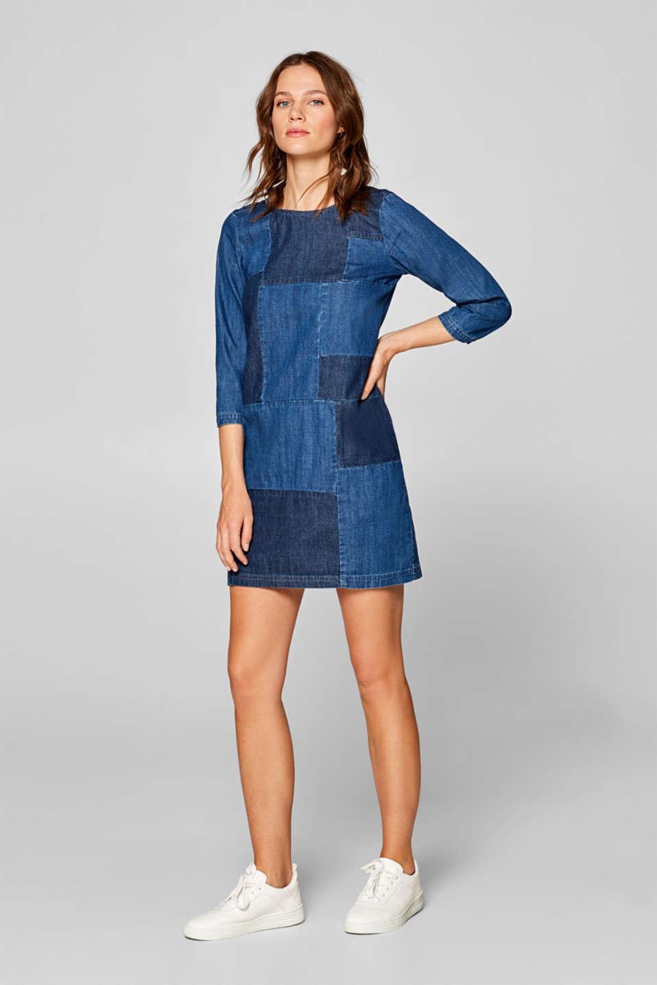 Dresses denim, BLUE MEDIUM WASH, detail image number 1