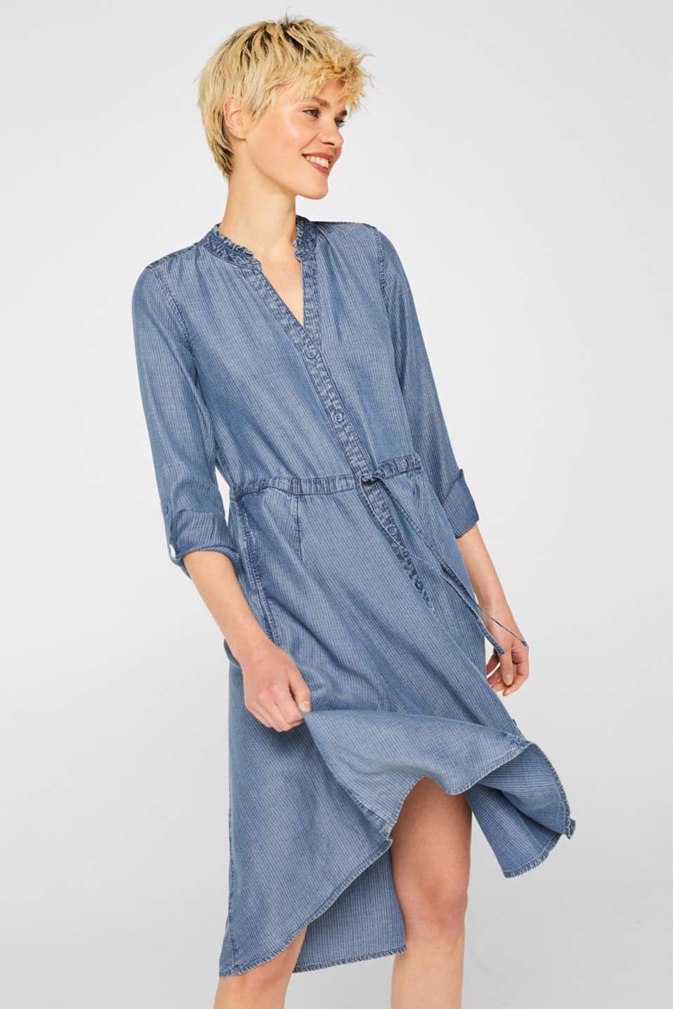 Dresses denim, BLUE LIGHT WASH, detail image number 0