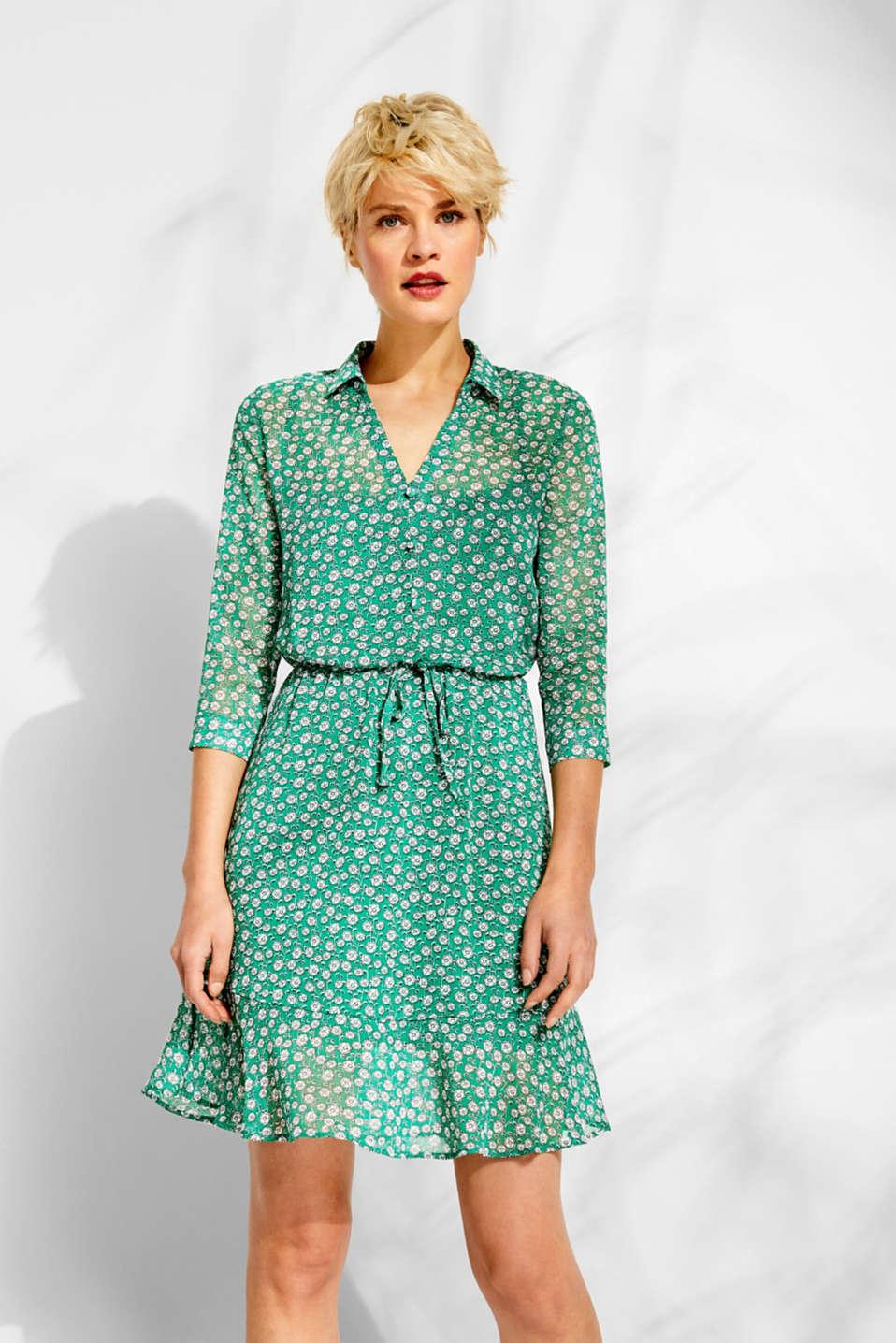 Dresses light woven, GREEN, detail image number 0