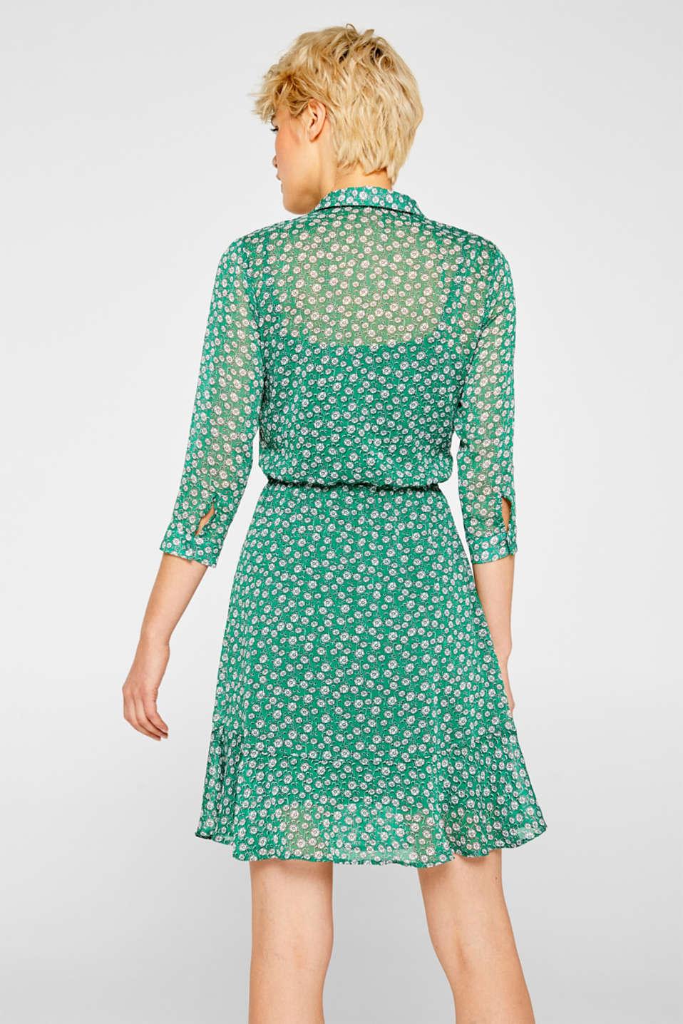 Dresses light woven, GREEN, detail image number 2