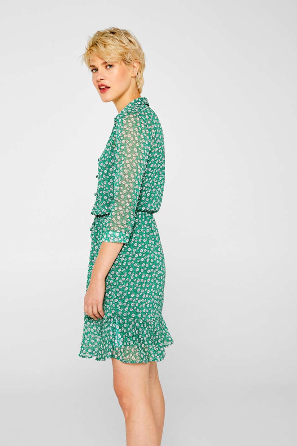 Dresses light woven, GREEN, detail image number 5