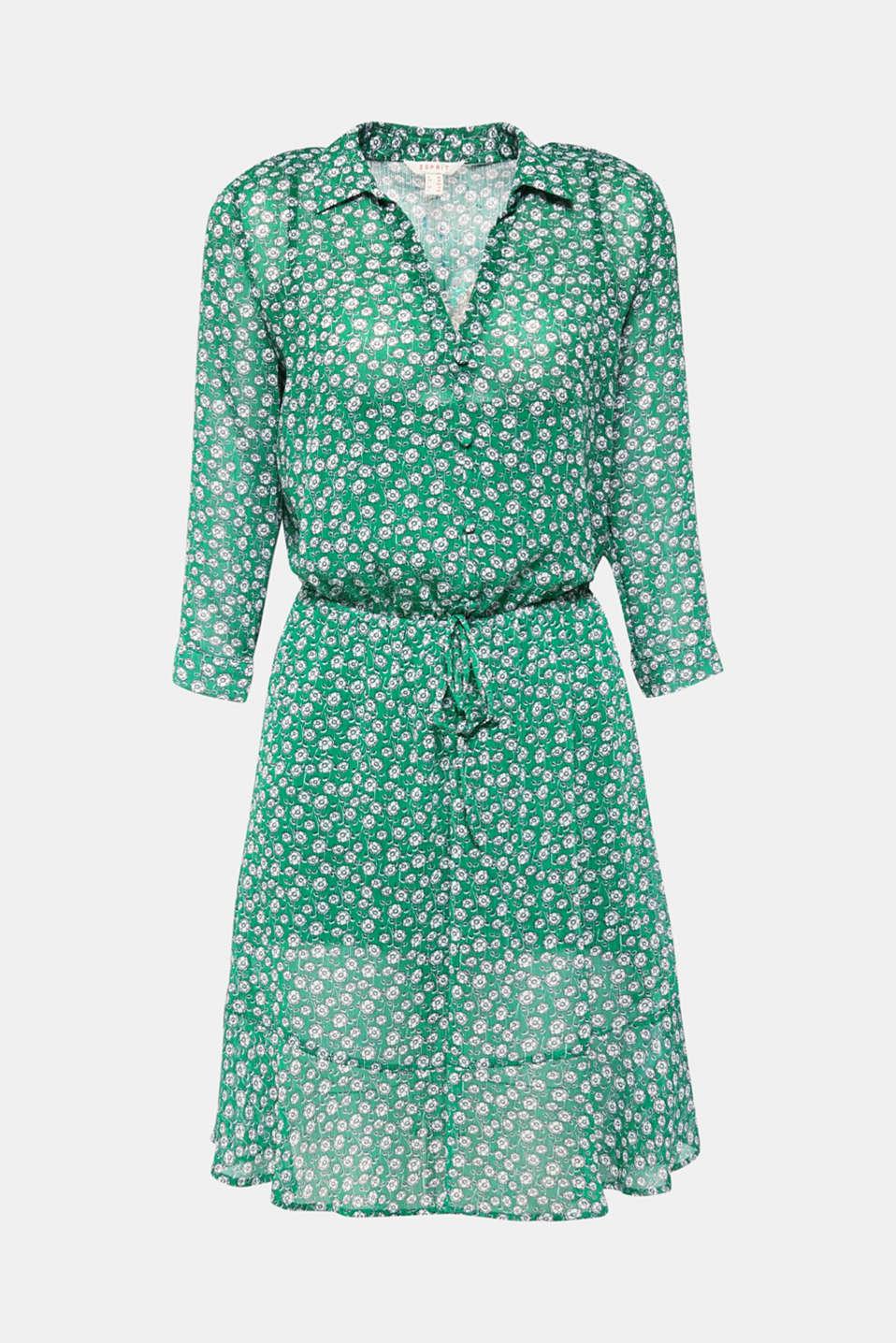 Dresses light woven, GREEN, detail image number 7