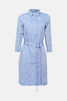 1cebb13ec8e4c4 Esprit - Gemêleerde blousejurk van 100% linnen kopen in de online shop