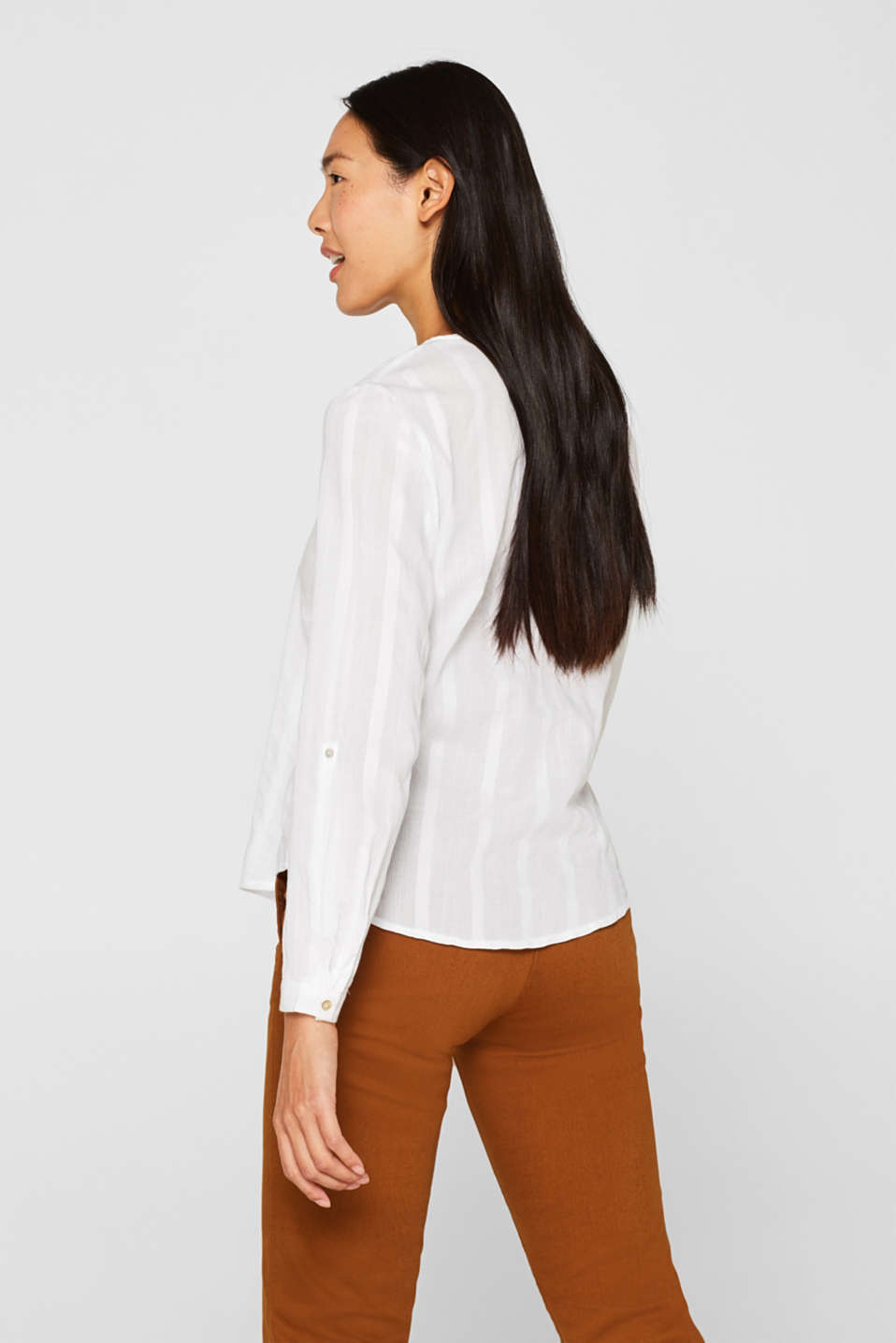 Blouses woven, OFF WHITE, detail image number 3