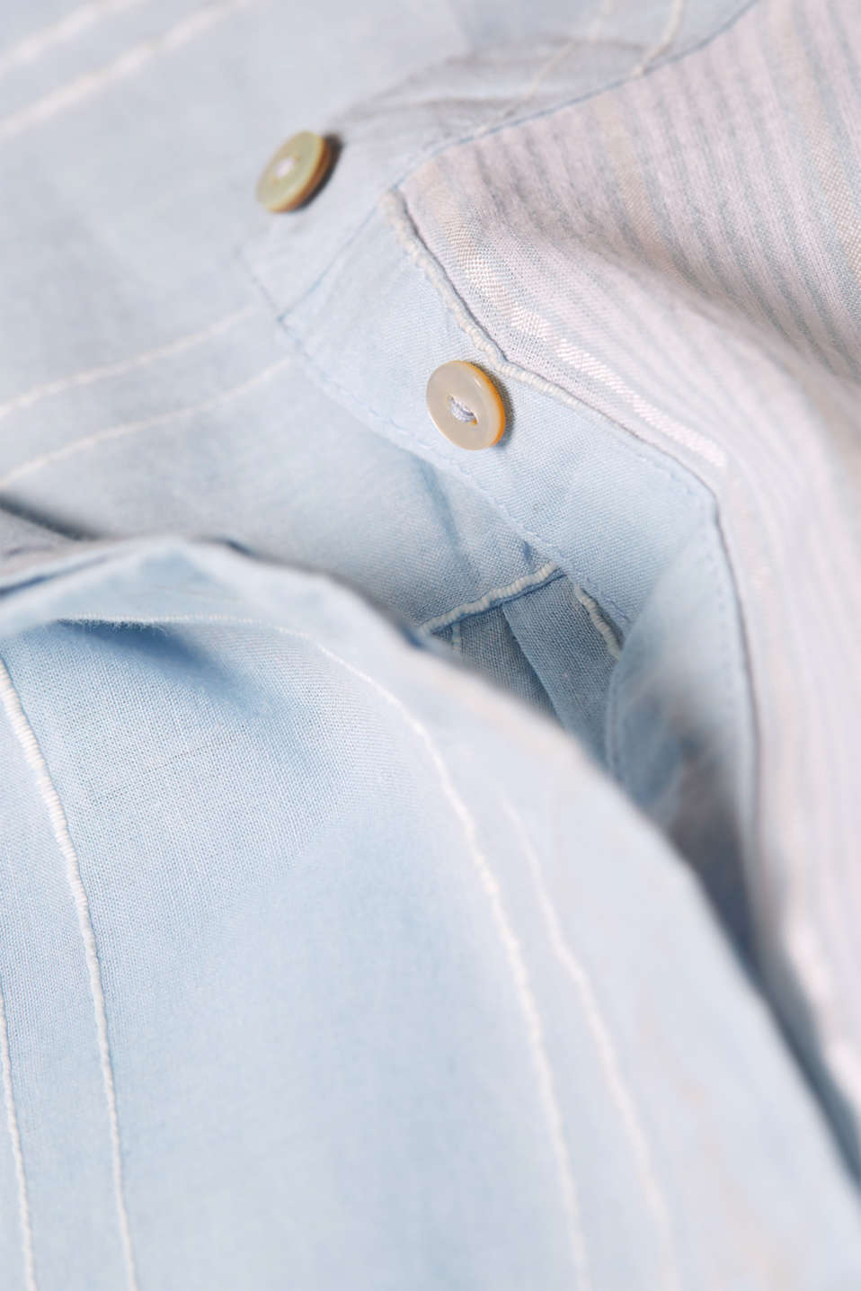 Blouses woven, LIGHT BLUE, detail image number 4