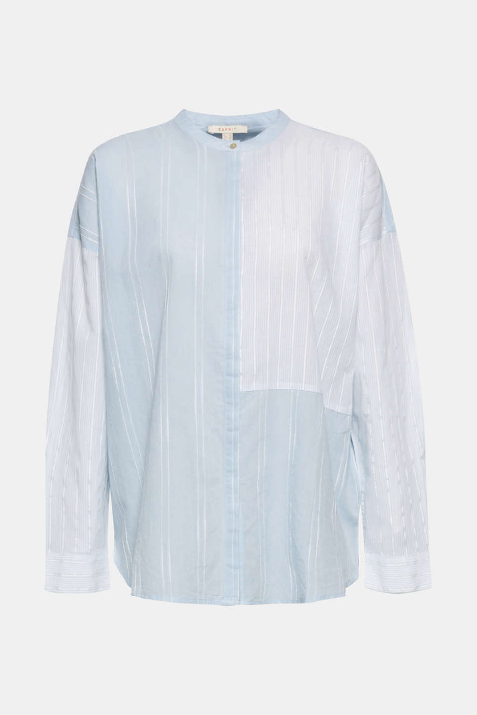Blouses woven, LIGHT BLUE, detail image number 7