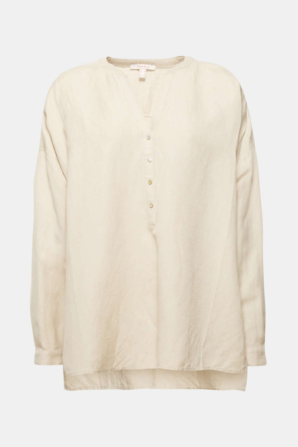Blouses woven, TAUPE, detail image number 6