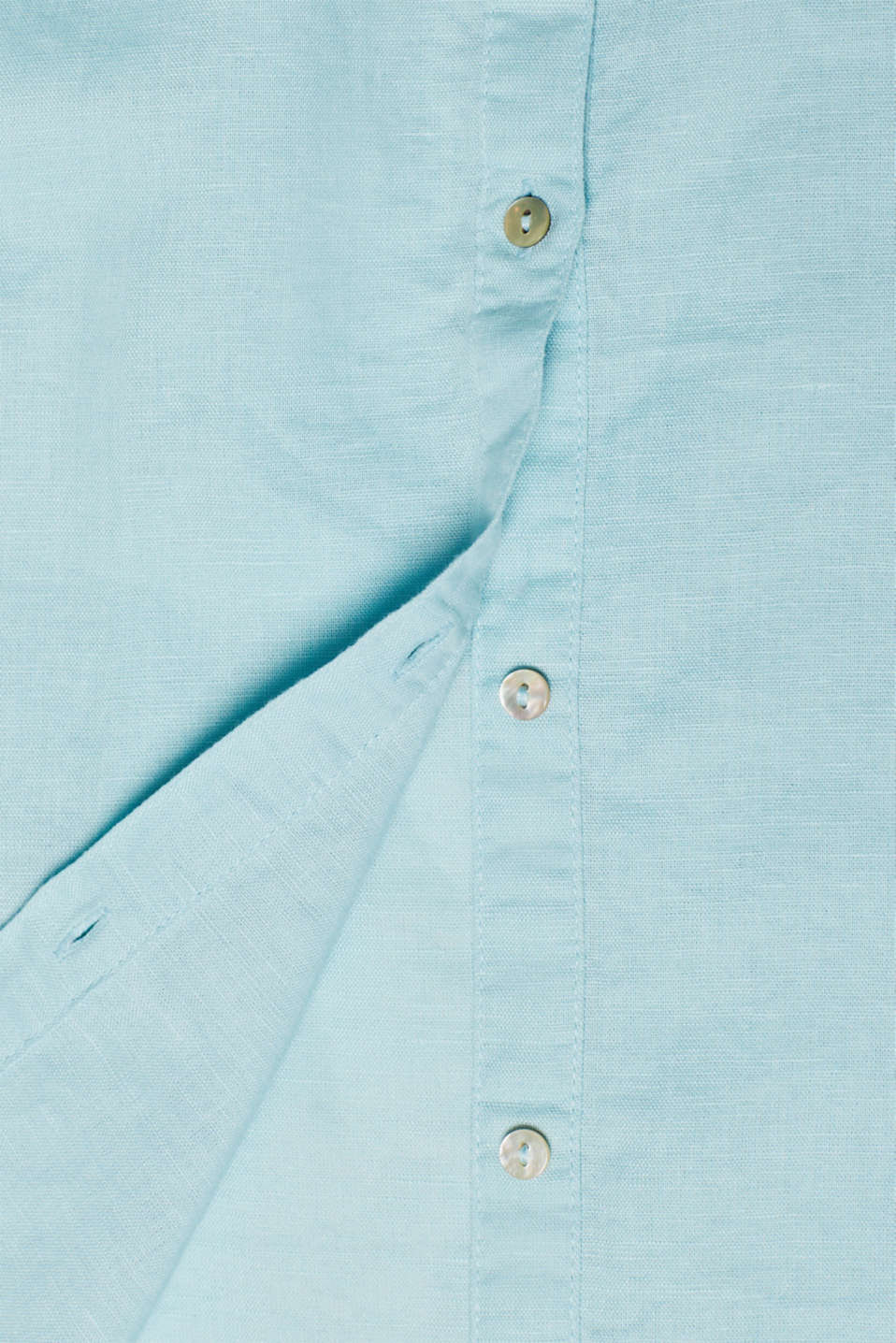 Blouses woven, LIGHT AQUA GREEN, detail image number 4