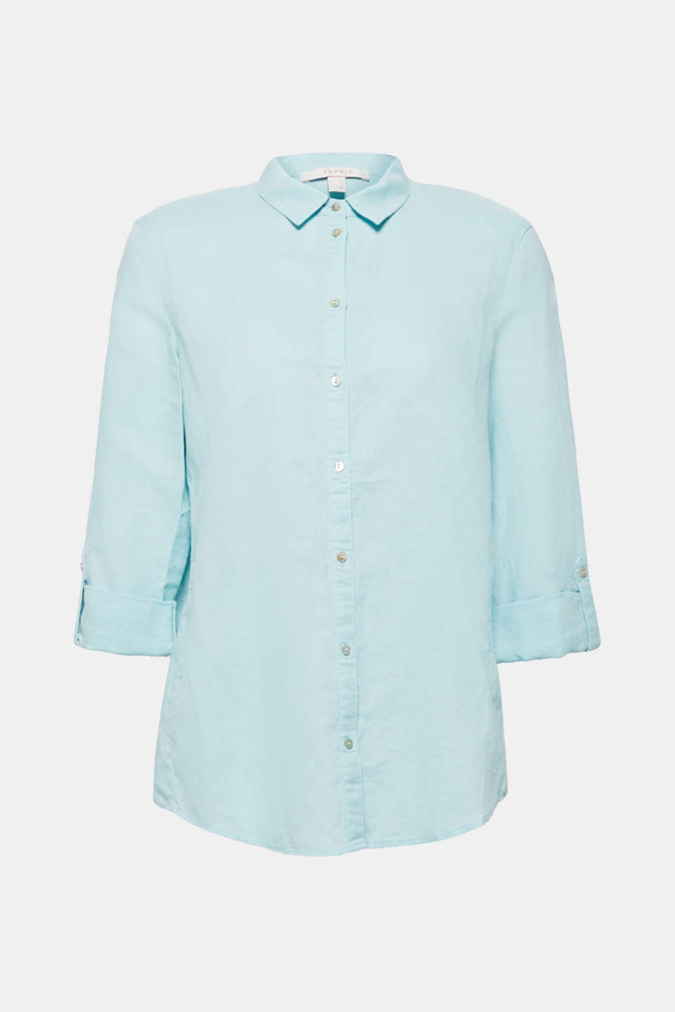 Blouses woven, LIGHT AQUA GREEN, detail image number 8