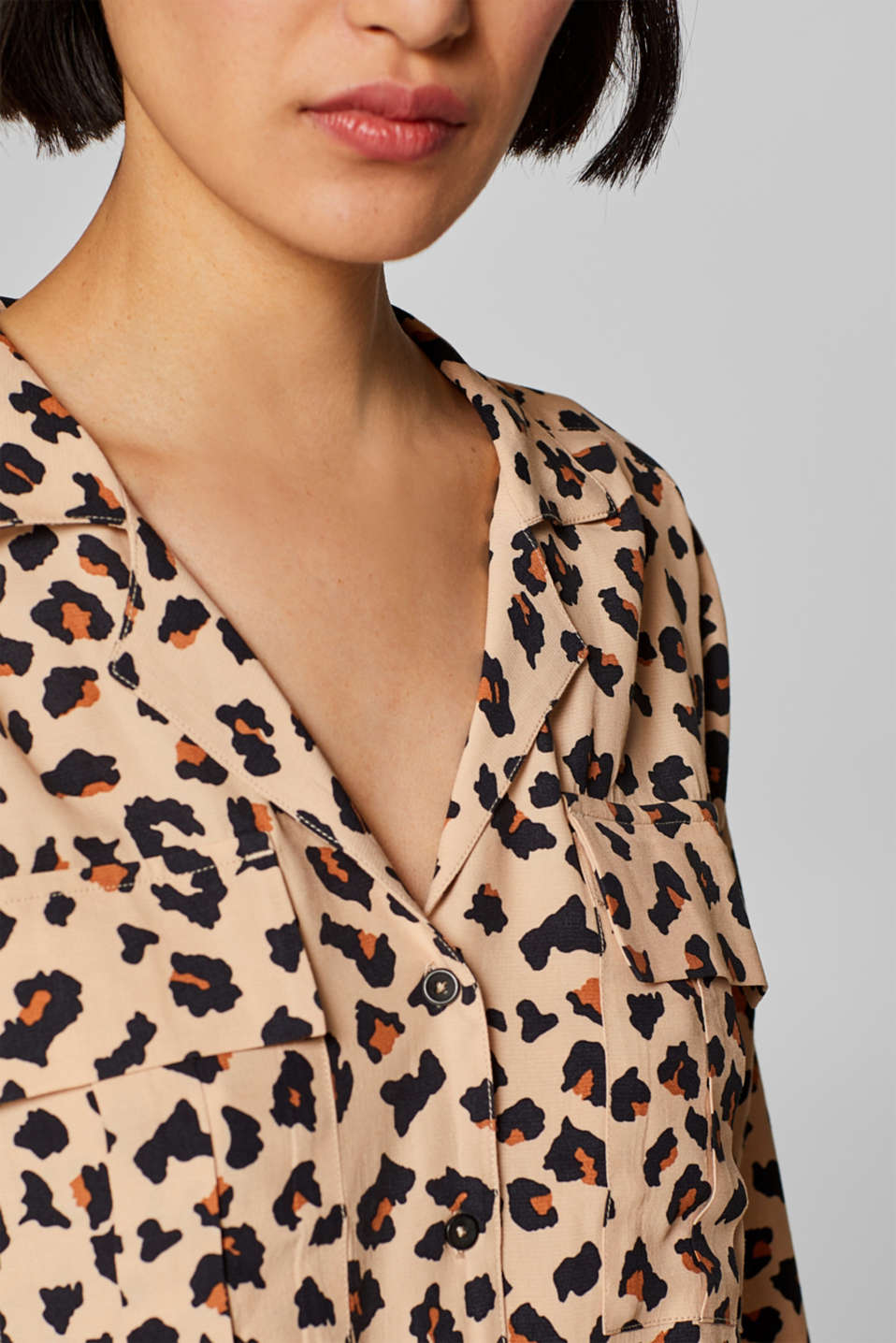 Blouses woven, BEIGE, detail image number 2