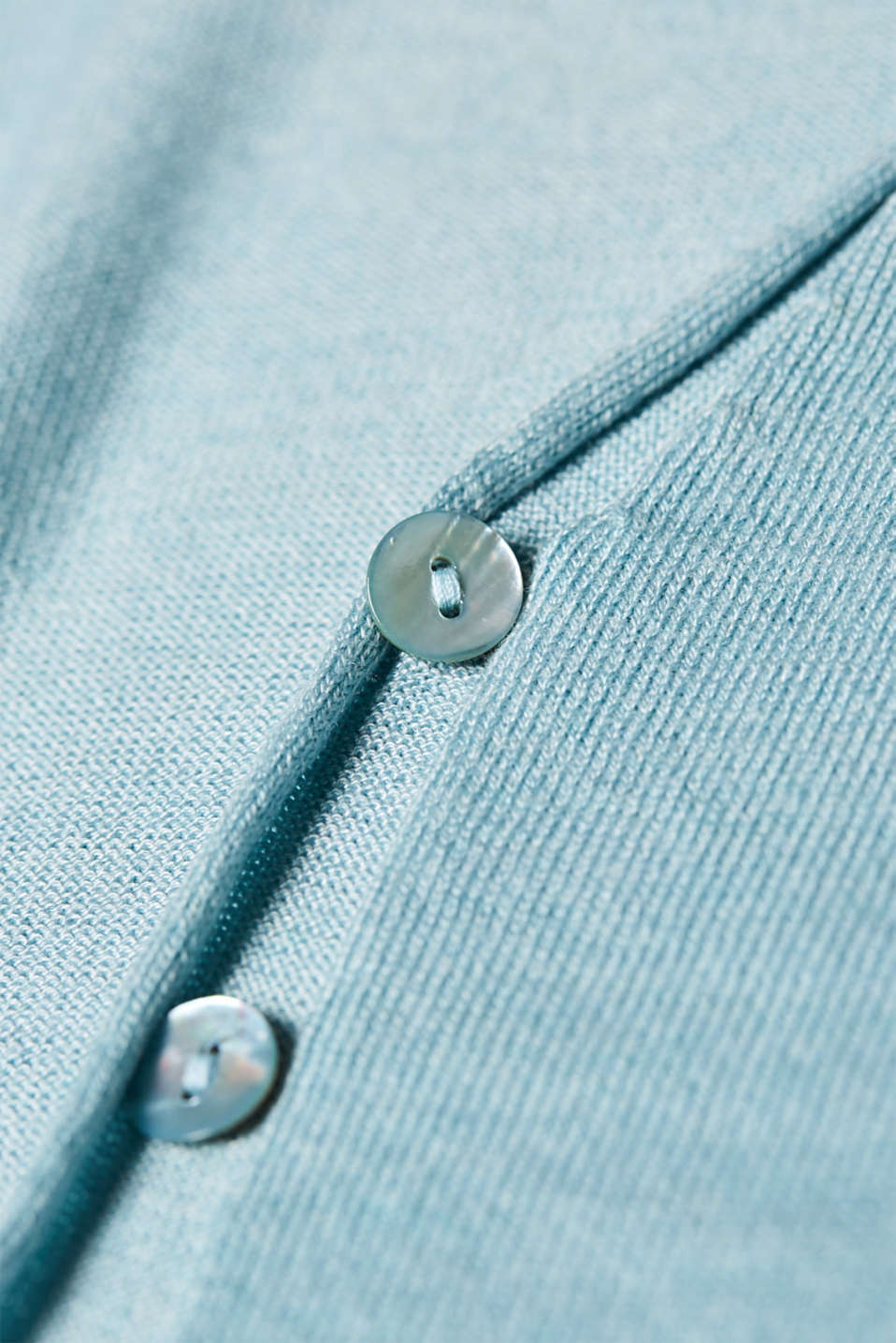Sweaters cardigan, LIGHT TURQUOISE 5, detail image number 4