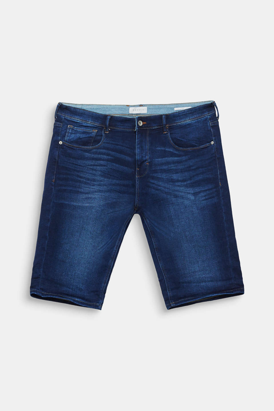 Shorts denim, BLUE DARK WASH, detail image number 5