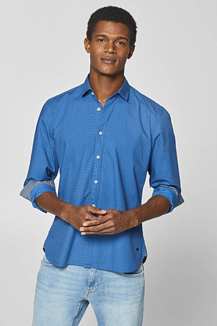 Camisa con estampado minimalista 4f0d98aa4ec7