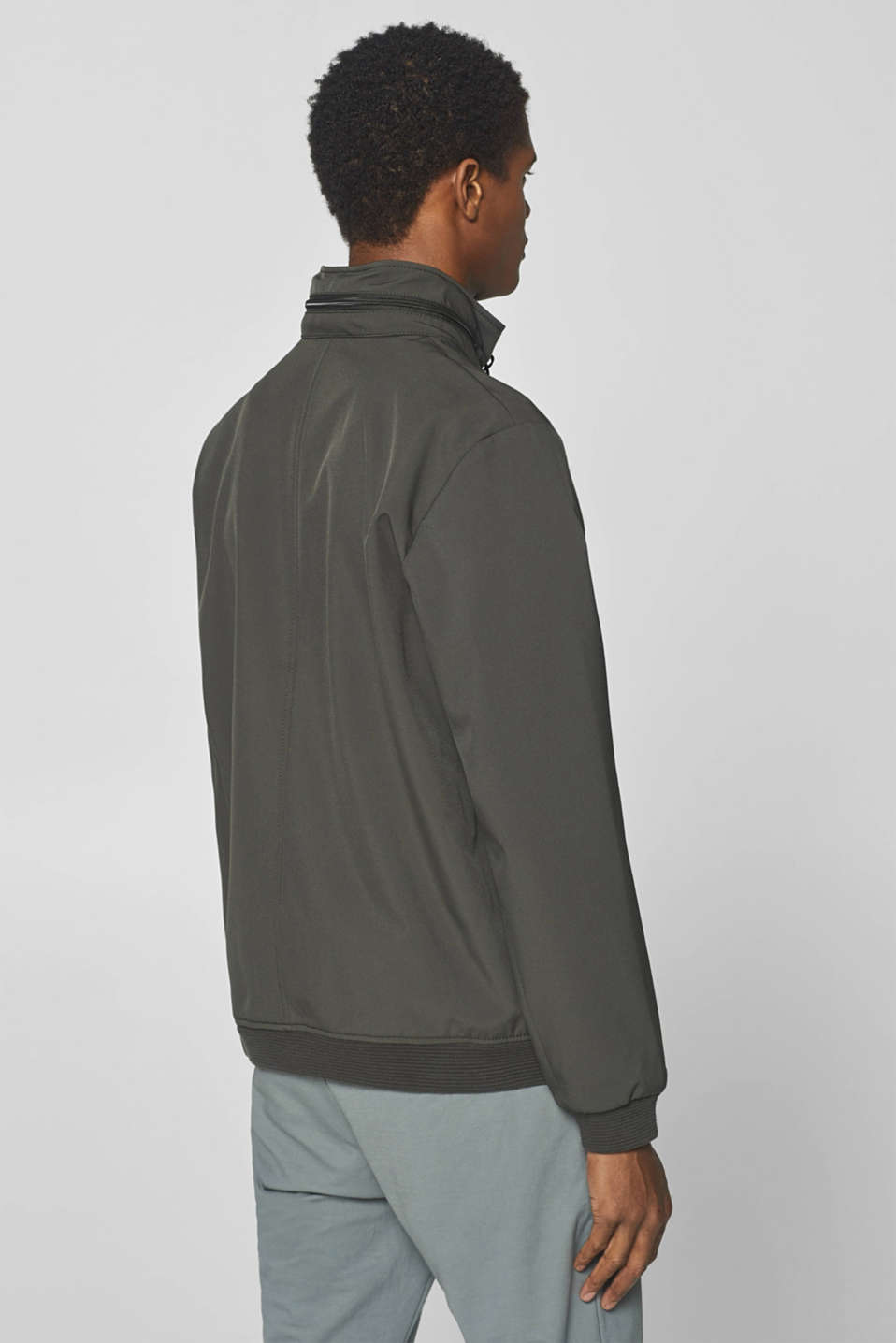 Jacket with adjustable hood, DARK GREY, detail image number 3