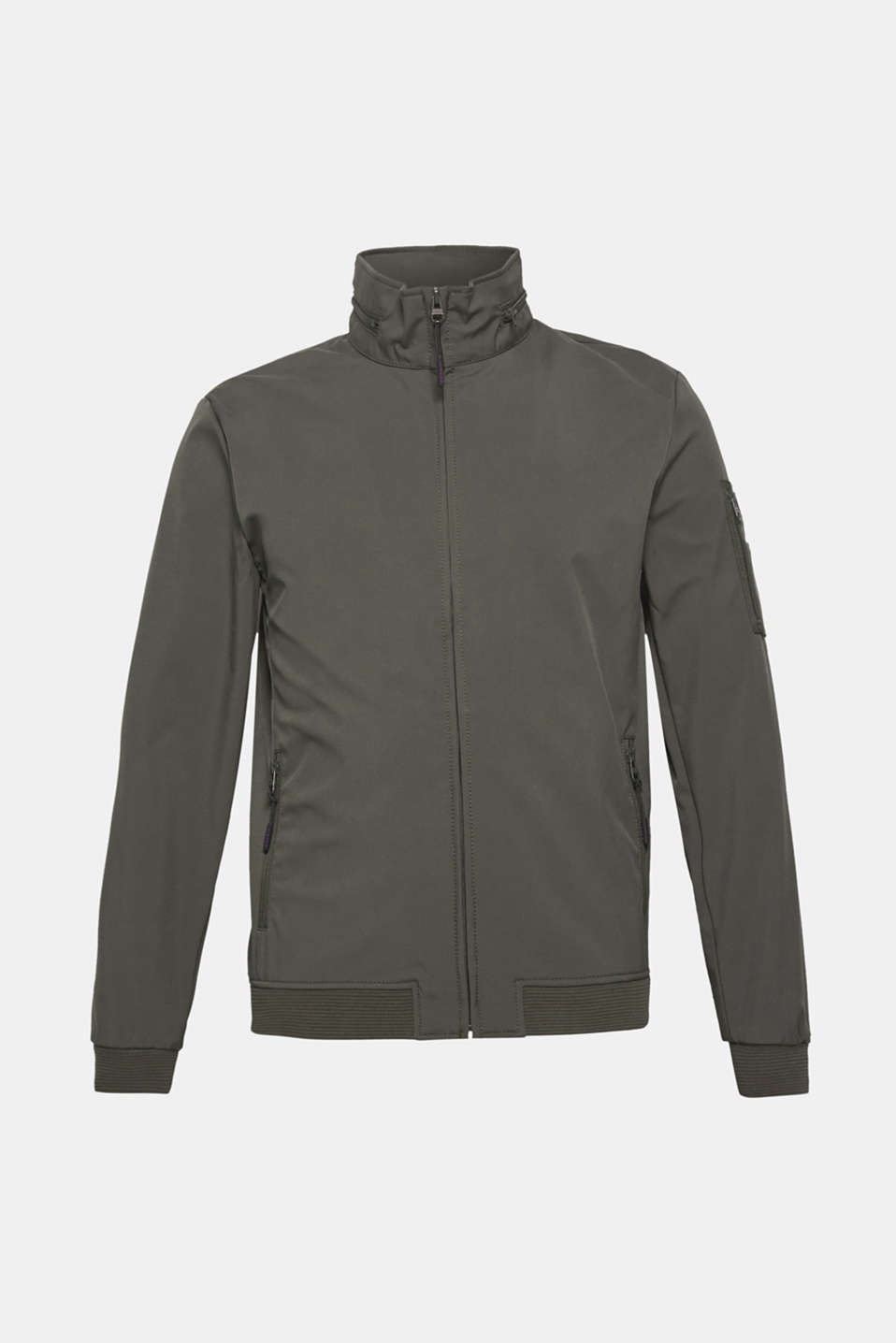 Jacket with adjustable hood, DARK GREY, detail image number 6
