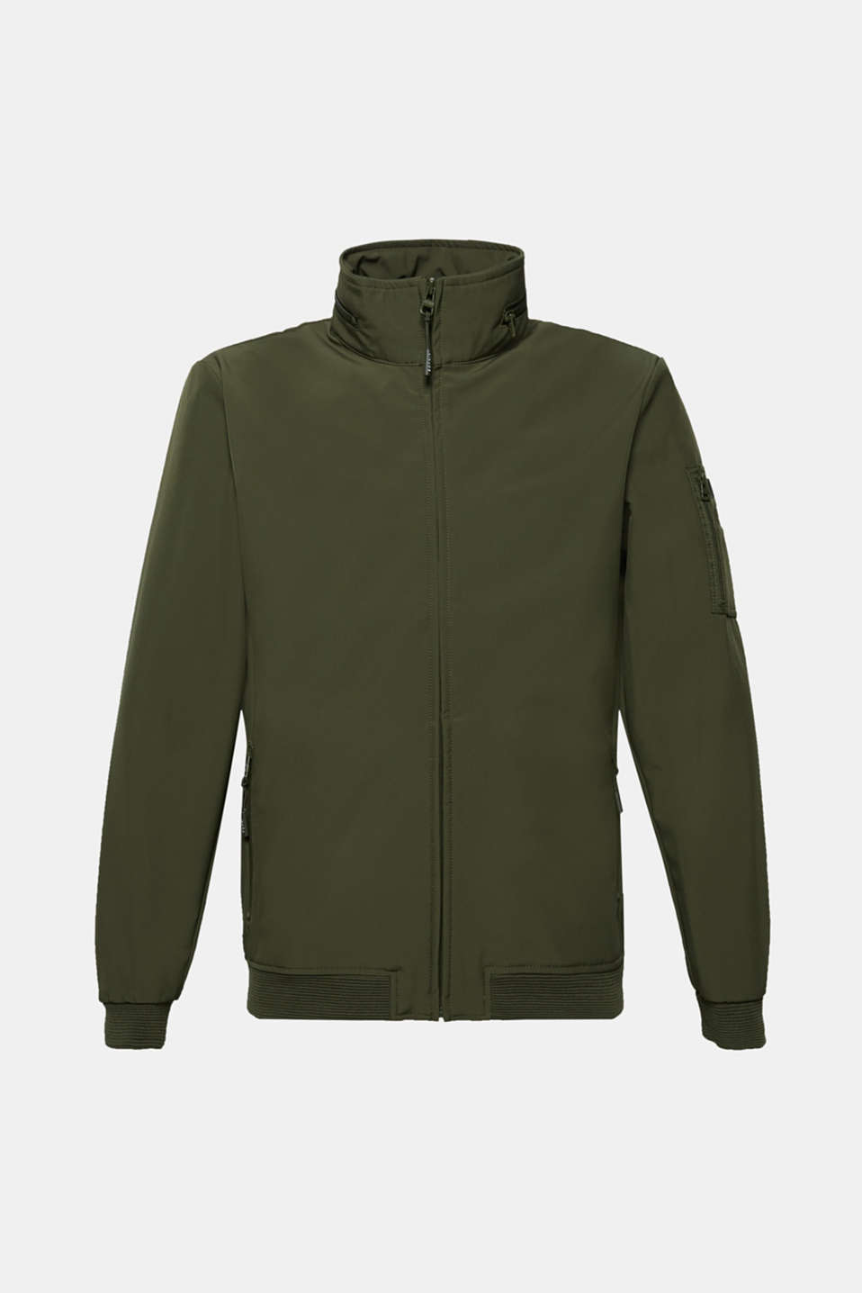 Jackets outdoor woven, KHAKI GREEN, detail image number 7