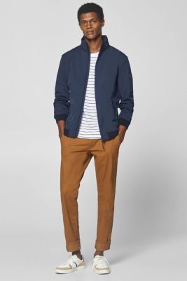 Jacket with adjustable hood, NAVY, detail