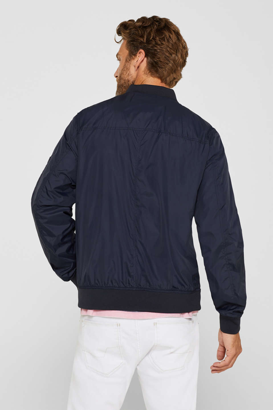 Jackets outdoor woven, DARK BLUE, detail image number 3