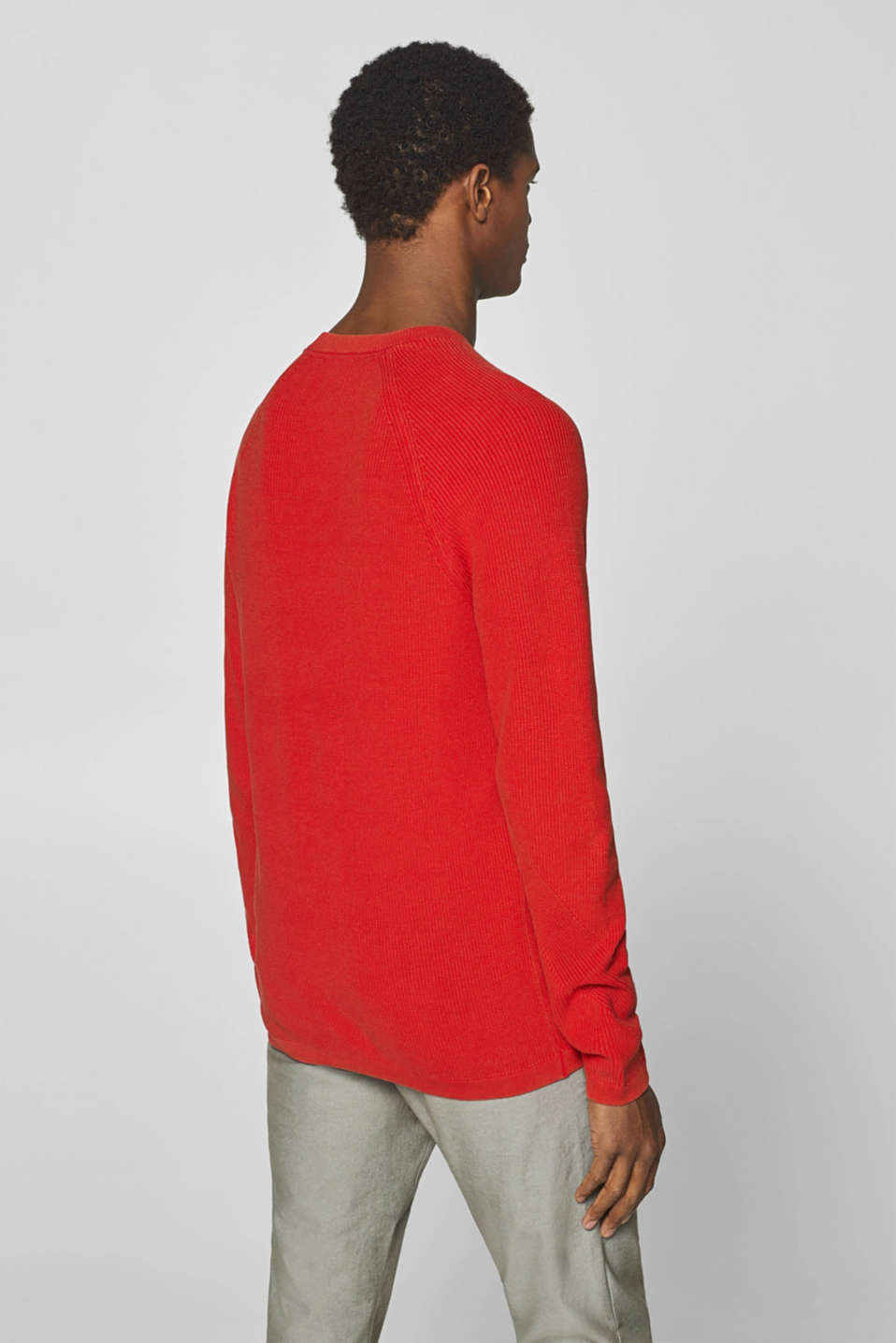 Sweaters, RED, detail image number 3