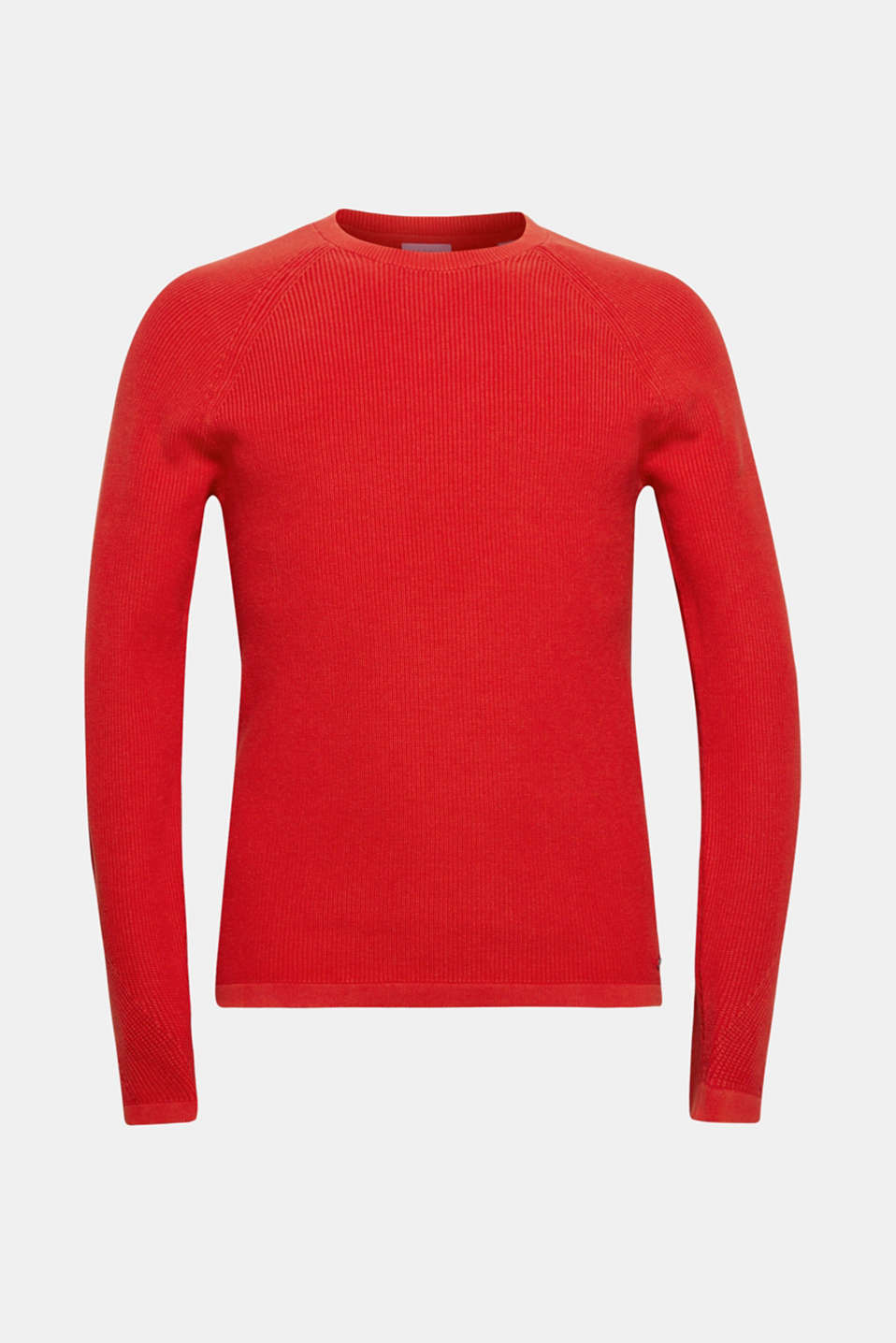 Sweaters, RED, detail image number 6