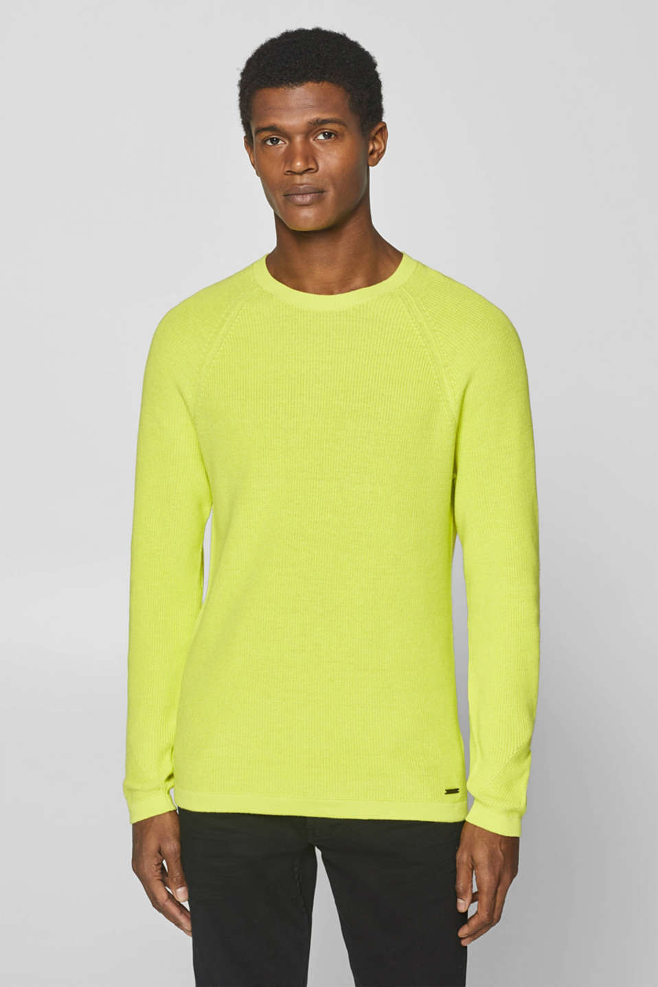 Sweaters, BRIGHT YELLOW, detail image number 0