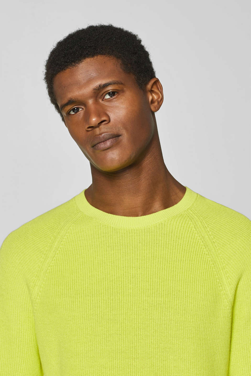 Sweaters, BRIGHT YELLOW, detail image number 6