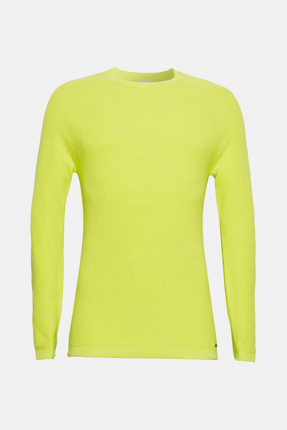 Sweaters, BRIGHT YELLOW, detail image number 7
