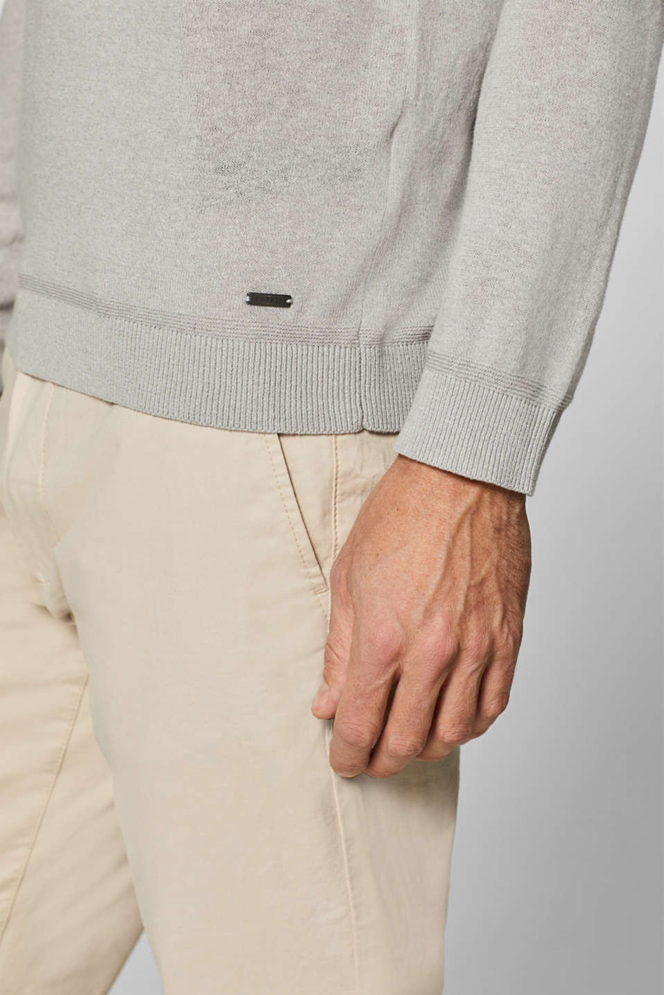 Sweaters, LIGHT GREY, detail image number 2
