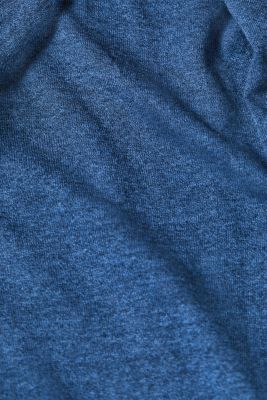 Made of blended linen: two-tone jumper