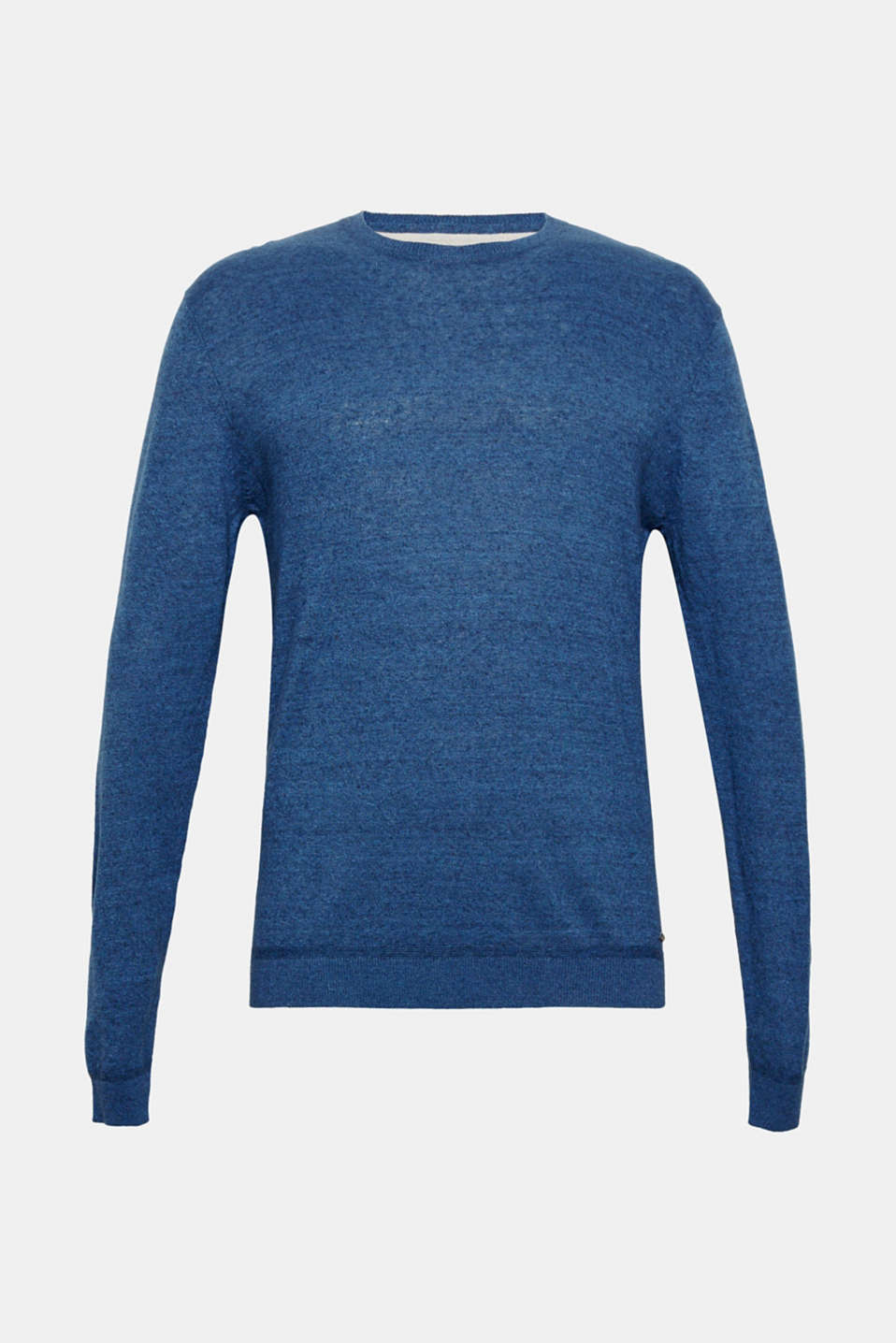 Sweaters, BLUE, detail image number 7