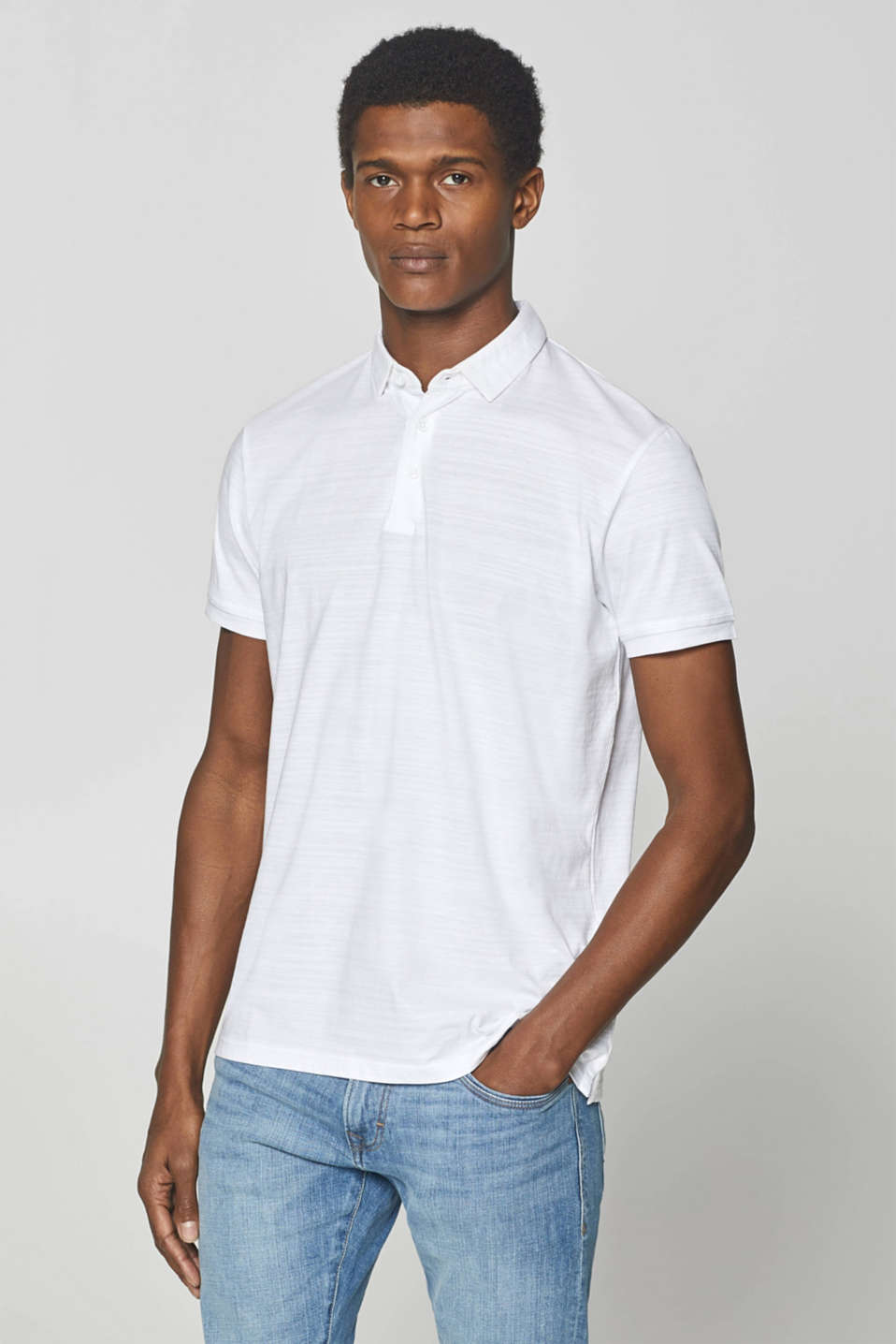 Polo shirts, WHITE, detail image number 0