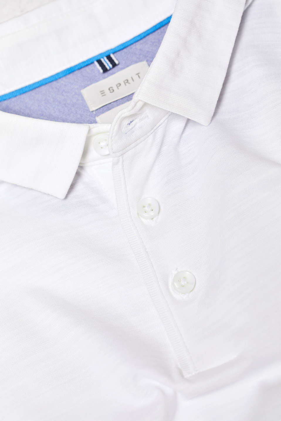 Polo shirts, WHITE, detail image number 5