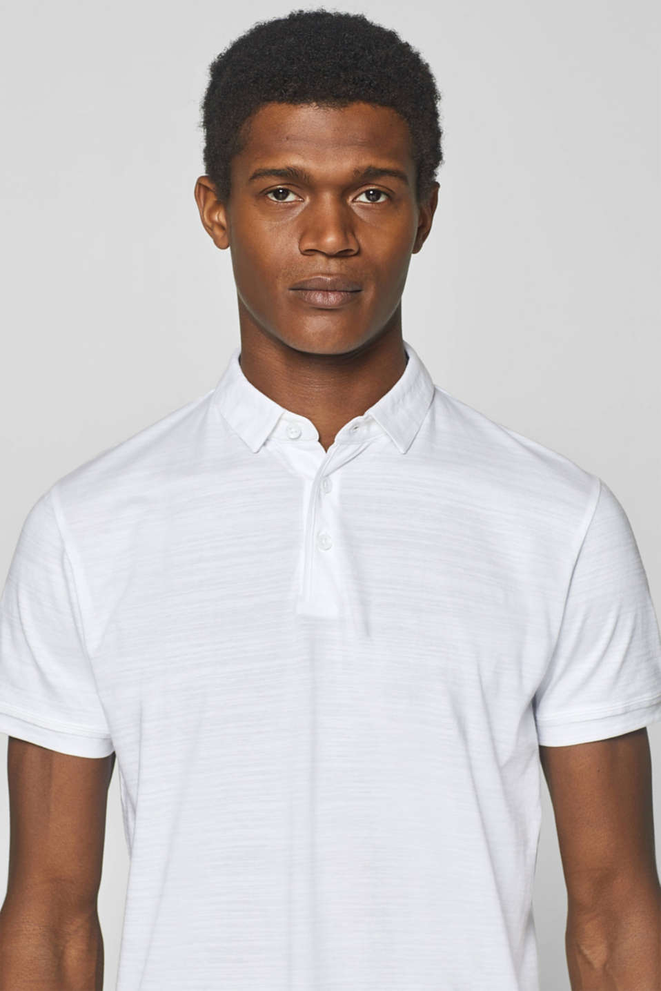 Polo shirts, WHITE, detail image number 6