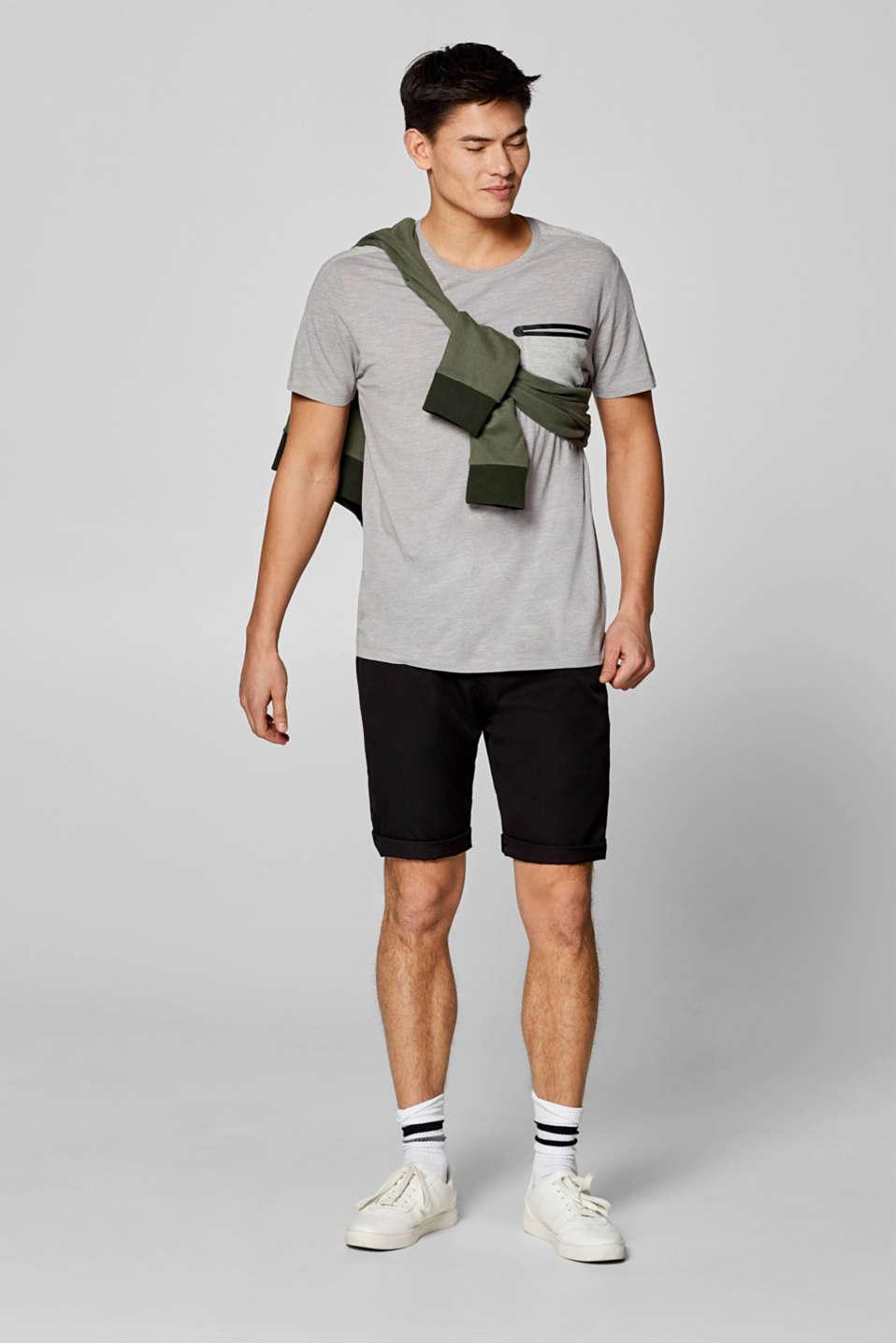 T-Shirts, LIGHT GREY, detail image number 2