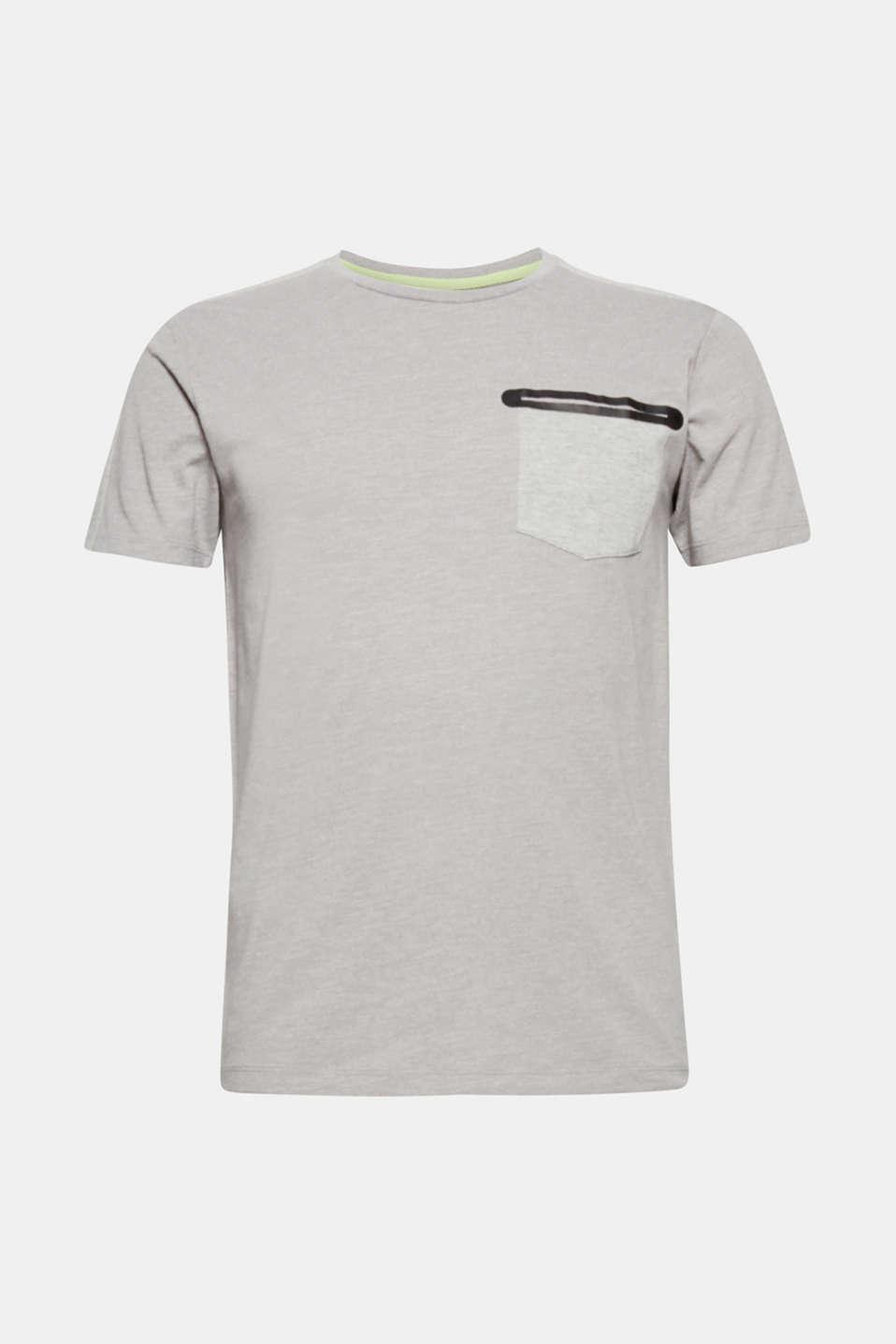 T-Shirts, LIGHT GREY, detail image number 6