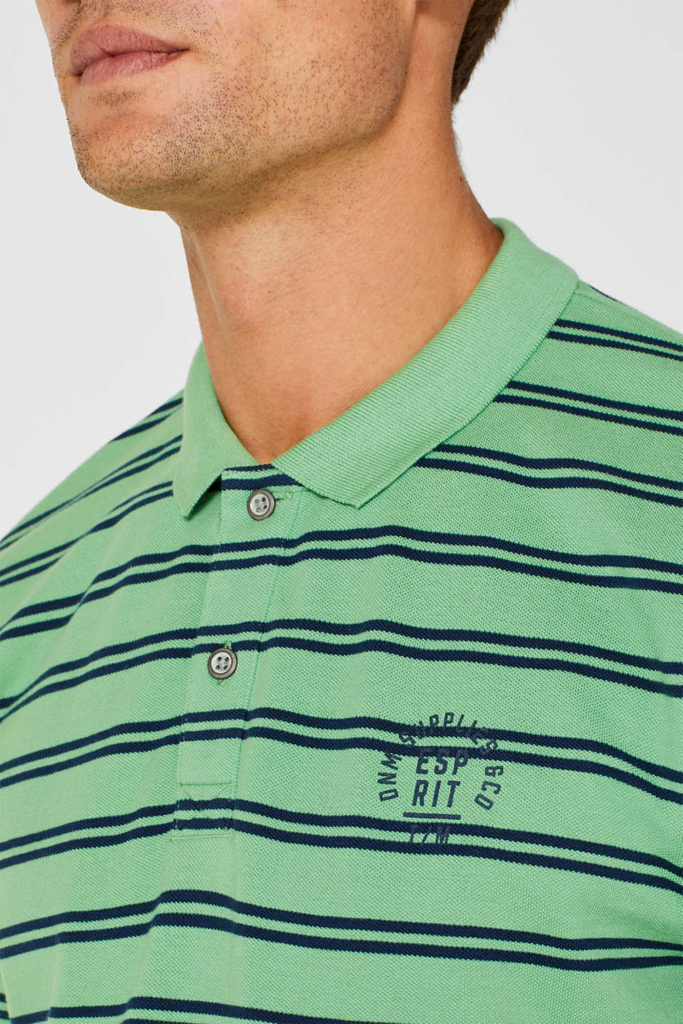 Polo shirts, GREEN, detail image number 1
