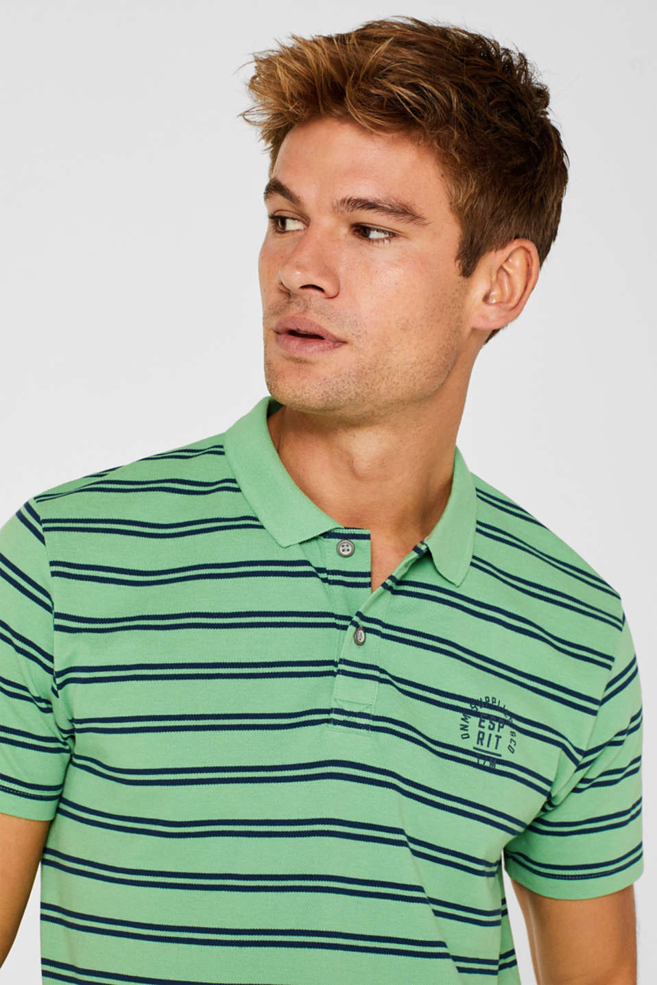 Polo shirts, GREEN, detail image number 6