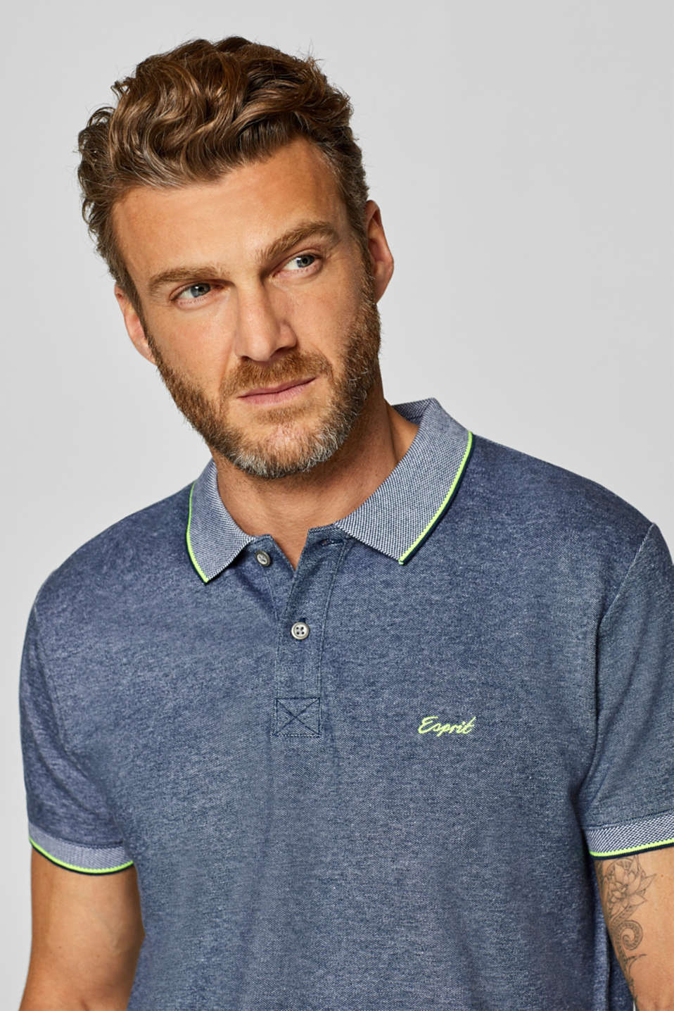 Polo shirts, NAVY, detail image number 5