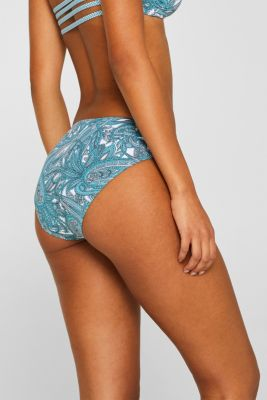 Midi briefs with a gathered detail
