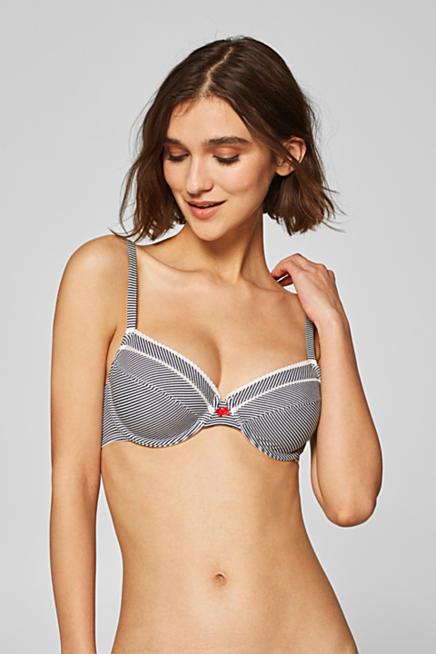 8b43430388 Unpadded underwire bra with organic cotton