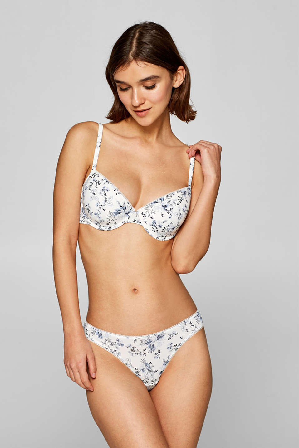 Bras with wire, OFF WHITE, detail image number 0