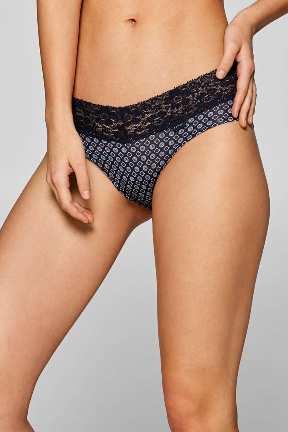 Bottoms, NAVY, detail image number 1