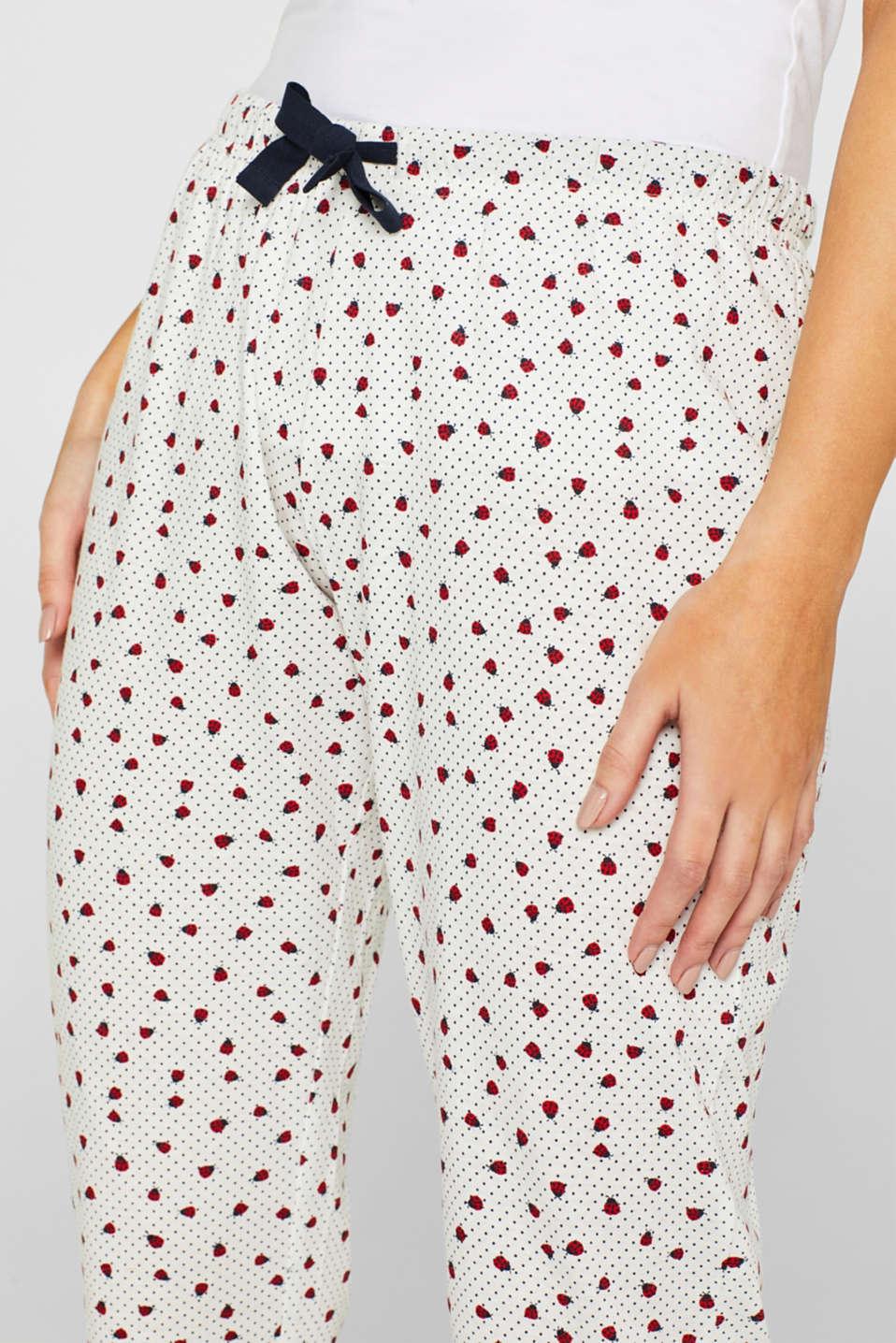 Nightpants, OFF WHITE, detail image number 1