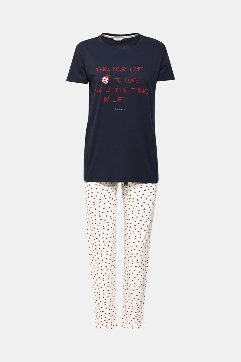 Pyjamas, OFF WHITE, detail image number 3
