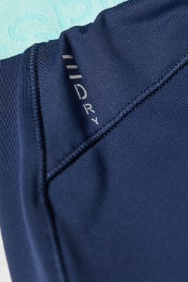 Active trousers with contrasting waistband, E-DRY