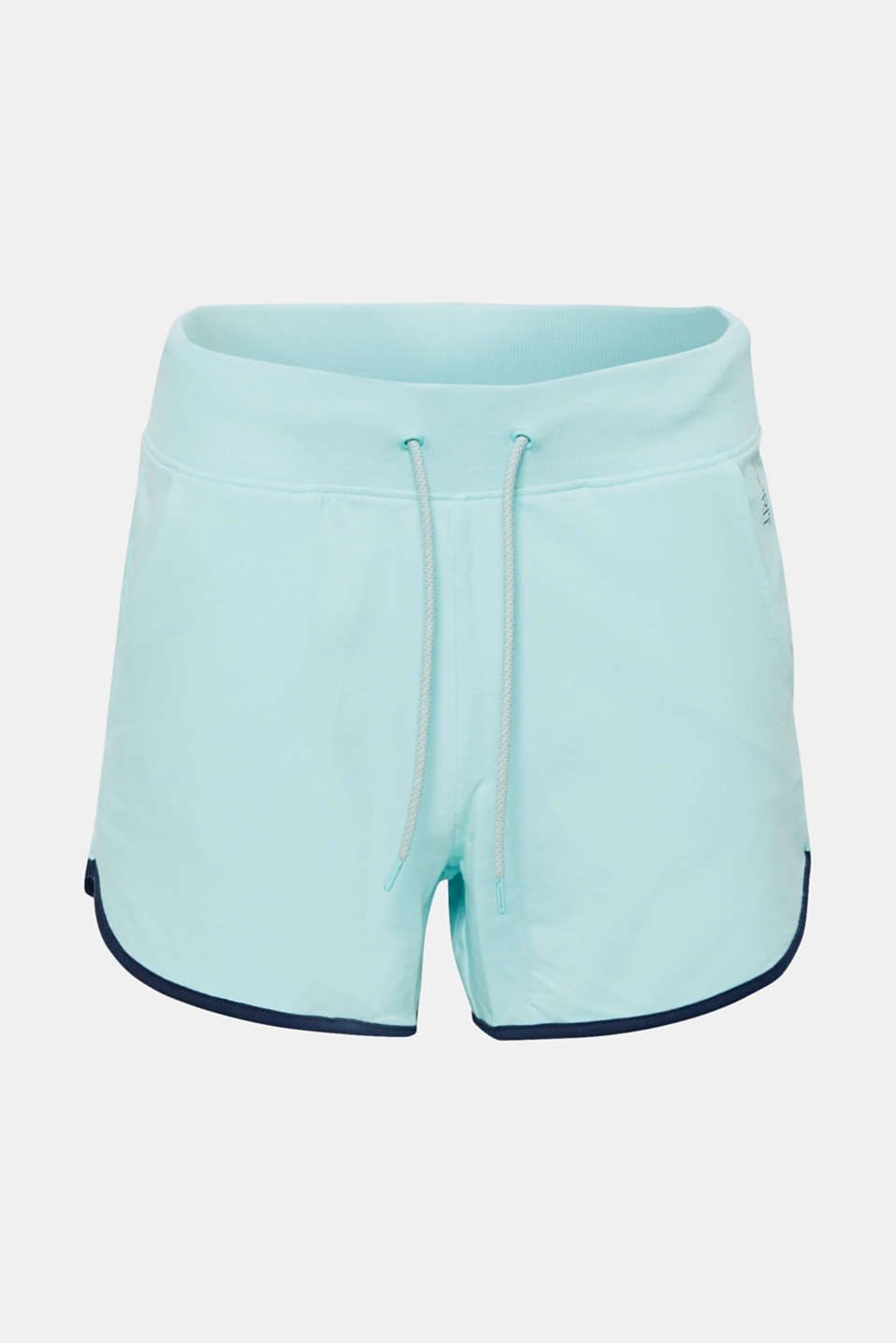 Shorts knitted, LIGHT AQUA GREEN, detail image number 6