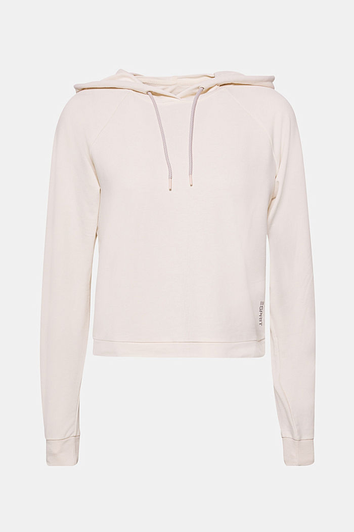 Zachte, boxy stretchhoodie, LIGHT PINK, detail image number 0