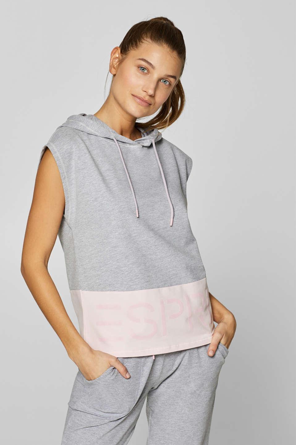 Sweatshirts, LIGHT GUNMETAL 2, detail image number 5